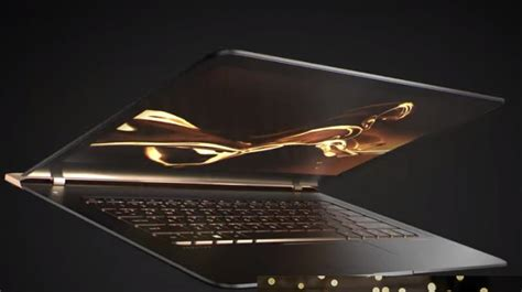 Intel Metro Worlds Thinnest Laptop by Hp Launches Spectre 13 World S Thinnest Laptop In India