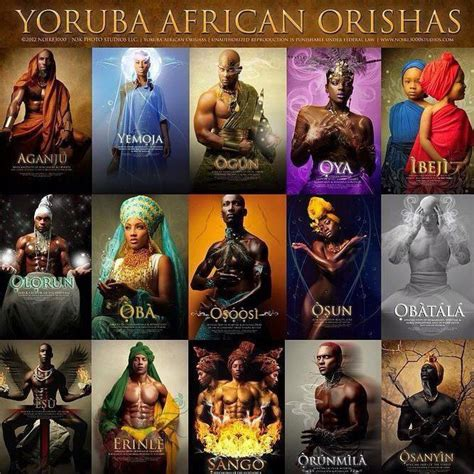 yoruba mythology coloring book the gods and goddesses of yorubaland books 17 best images about santos on statue of