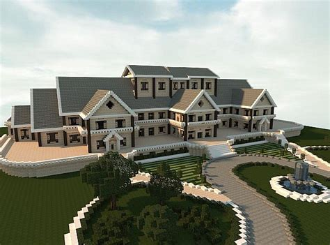 build a mansion luxury mansion minecraft project