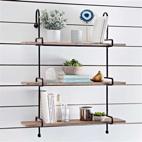 photography wall art home decor wooden slatpipe shelf kirklands
