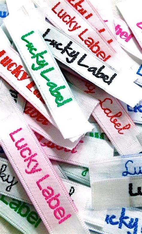 Cloth Tags For Handmade Clothing - 17 best images about name satin woven clothing