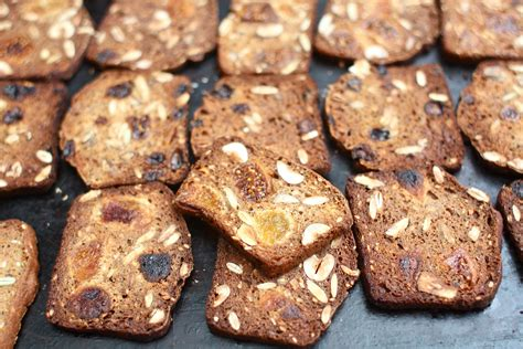 Handmade Crisps - fruit nut crisps simple bites
