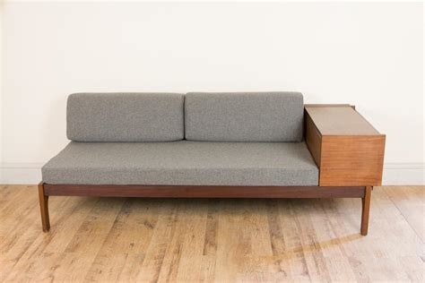 danish sofa bed uk vintage retro danish daybed sofa bed eames era ebay
