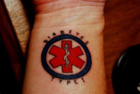 medical alert tattoo designs alert
