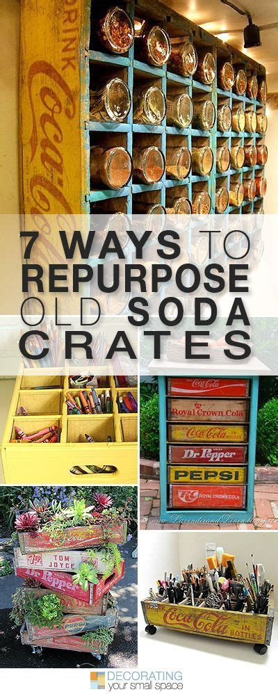12 ways to repurpose an old soda crate dukes and duchesses 7 ways to repurpose old soda crates sodas crates and ideas