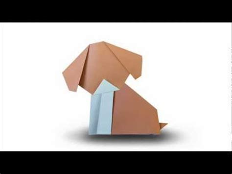 How To Make A Puppy Out Of Paper - how to fold an origami puppy