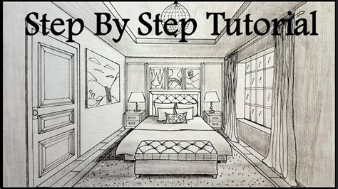 objective create a one point perspective drawing of your one point perspective drawing of a bedroom www