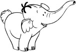 elephant coloring pages cartoon coloringstar