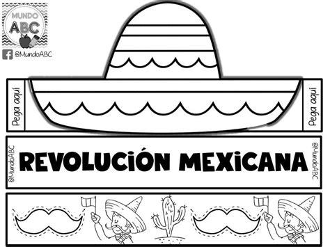 imagenes de la revolucion mexicana en preescolar estupendo y creativo sombrero para este 20 de noviembre