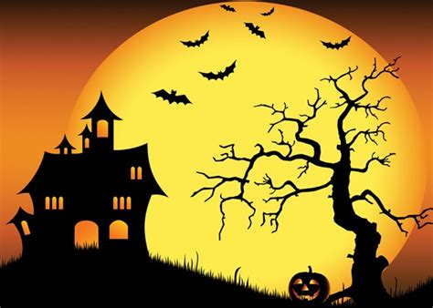 Paint By Number Wall Mural halloween backdrop
