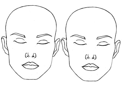 templates for face painting blank face template face paint world