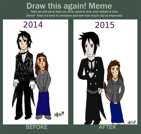 Black Butler Memes - kuroshitsuji draw this again meme 2014 2015 by