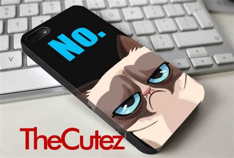 Grumpy Cat Y2789 Iphone 5 5s grumpy cat 3d and 1d for iphone 4 4s 5 5s 5c samsung by