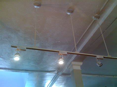 installing track lighting suspended ceiling ceiling designs