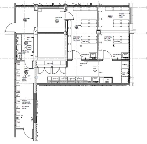 designer floor plans aquatics