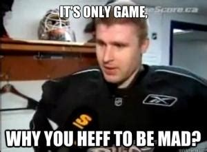 Why U Mad Meme - funny hockey sayings kappit