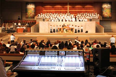 Potters House Frisco by Potter S House Church In Dallas Upgrades Audio Infrastructure With Trio Of Digico Sd7 Consoles