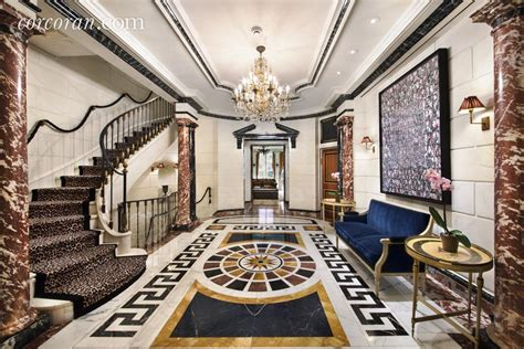 Kitchen Tile Designs Floor by Versace S Former Upper East Side Mansion Is Now A 120 000