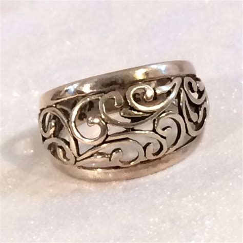 premier designs jewelry dome ring sterling silver 925