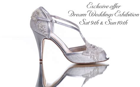 Wedding Shoes Galway by Weddings Exhibition Exclusive Offer Vintage Pearl