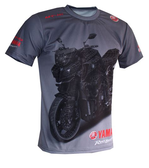 Tshirt Powersports yamaha mt 10 t shirt with logo and all printed picture t shirts with all of auto