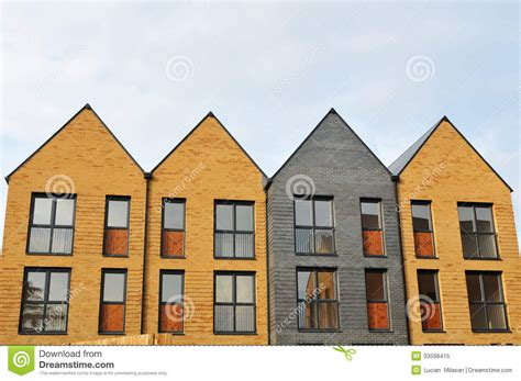 newly built houses for sale new houses royalty free stock photo image 33598415