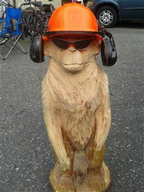 monkey chainsaw carving by chainsaw m carvings on deviantart