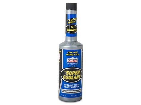Lucas Coolant lucas mustang coolant additive 10640 free shipping