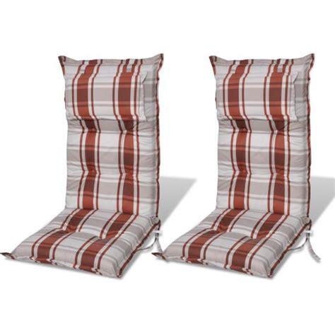 coussin de chaise de jardin coussin pour chaise de jardin brun achat vente coussin