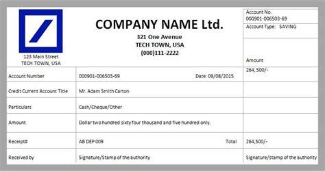 format of payment receipt cash payment receipt template cheque