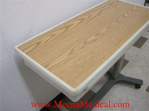 used hospital bed table for sale hill rom pmjr overbed table for sale