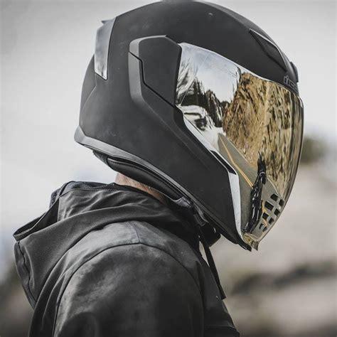 icon airflite rubatone helmet matte black motorsiklet