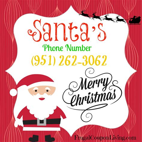call santa call santa free phone number for santa pin it for later