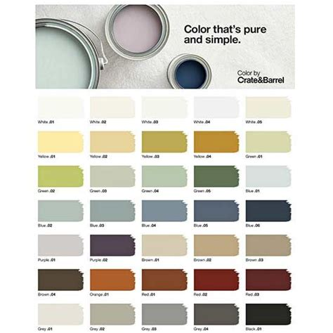paint colors crate and barrel why we re loving crate and barrel s new paint line home