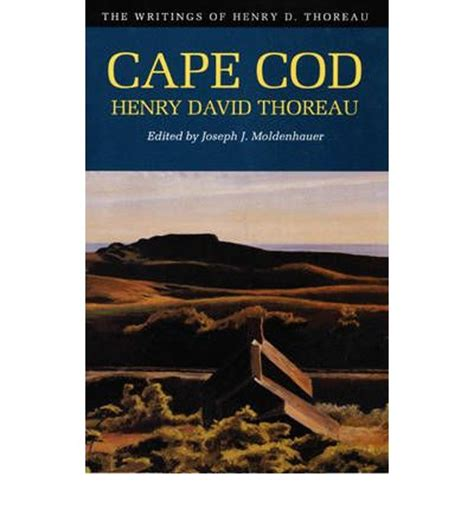 cape cod books cape cod henry david thoreau joseph j moldenhauer