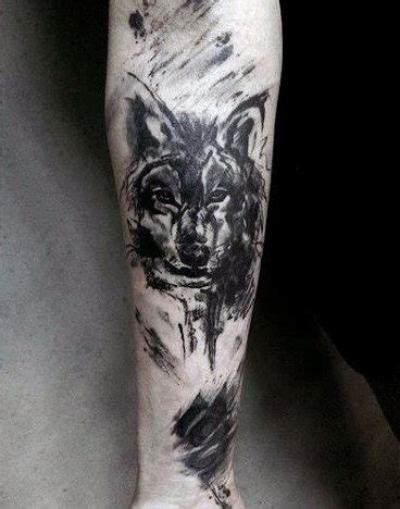 wolf forearm tattoo wolf forearm designs ideas and meaning tattoos