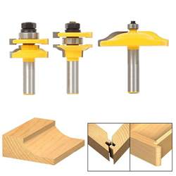 Router Bits For Cabinet Doors by Bit Raised Panel Cabinet Door Router Bit Set 1 2 Quot Shank