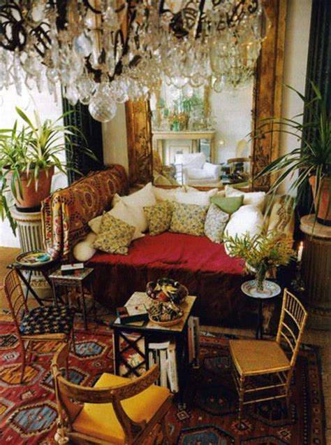 gypsy style home decor boho decor ideas adding chic and style to modern interior
