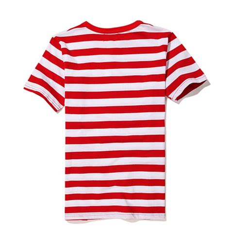 Tshirt Stripe Pink supreme pink panther stripes t shirt white