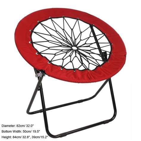 circle bungee chair new oxford elastic bungee rope folded