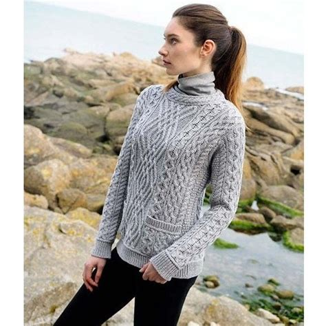 Cable Knit Sweater knitting becomes wonderful with cable knitting pattern