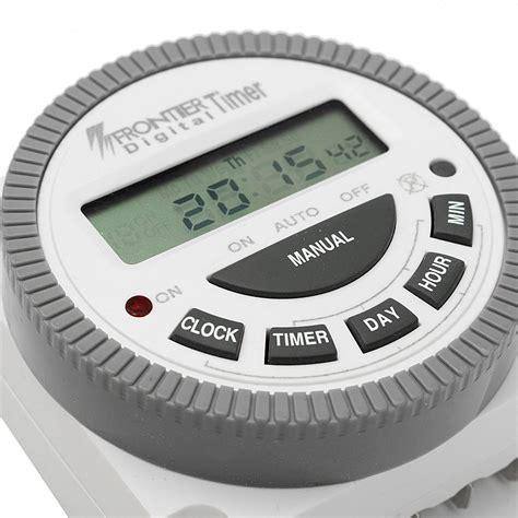 Timer Digital Brendensthul 1 Lobang Germany ac 220v 240v digital lcd power programmable timer electronic time switch alex nld