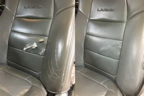 leather car seats repair vinyl and leather repair car care kalamazoo