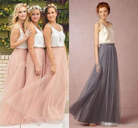 Dress Tutu Hk 2017 new cheap tulle bridesmaid dress skirt
