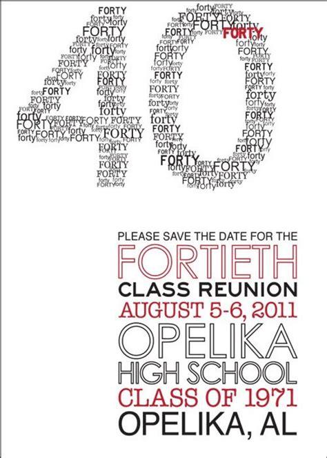 Modern Class Reunion Invitation Class Reunion Invitation Template