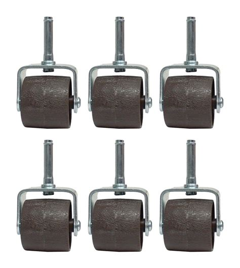 bed frame caster socket set of 6 bed frame caster wheels with plastic socket