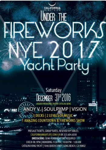 cruise new year 2017 celebrate 2017 in style los angeles top new year s
