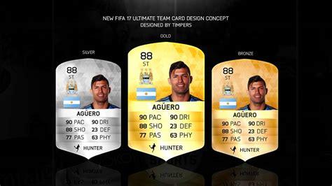 fifa 11 ultimate team card template fifa 17 ultimate team card design