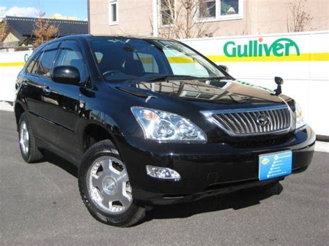 harrier lexus 2007 2007 toyota harrier pictures
