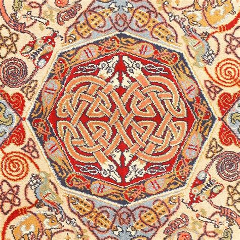 vintage celtic rug by artist george bain for sale at 1stdibs